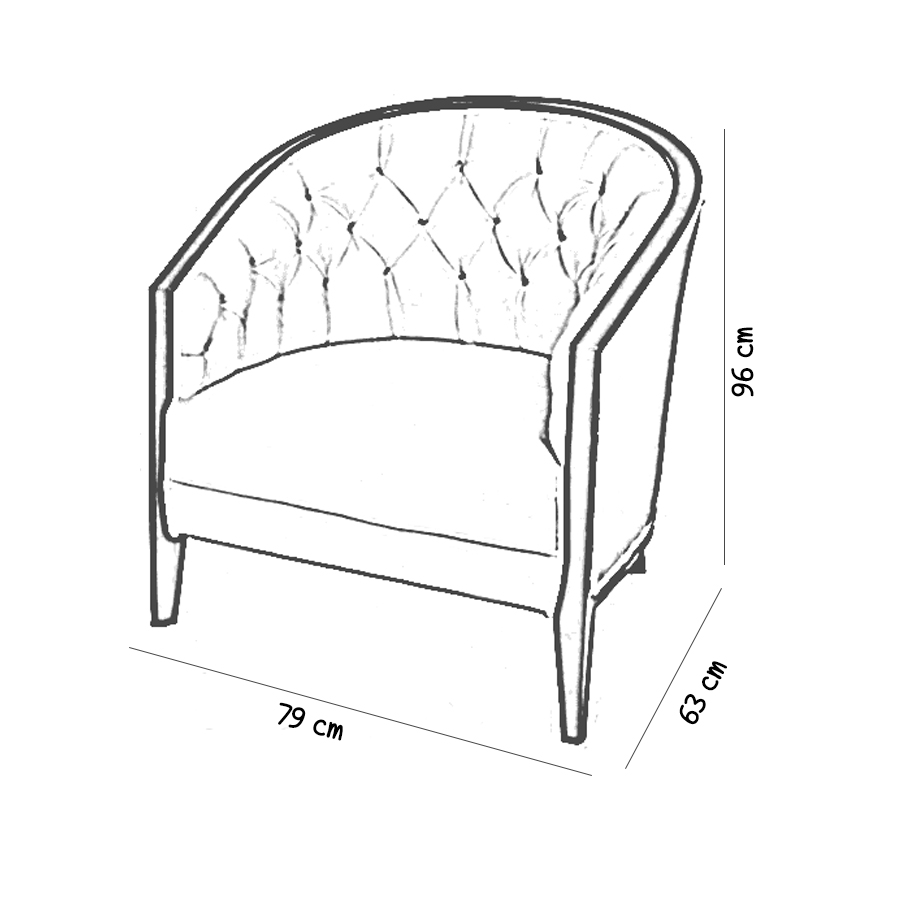 azure-tub-arm-chair-sketch