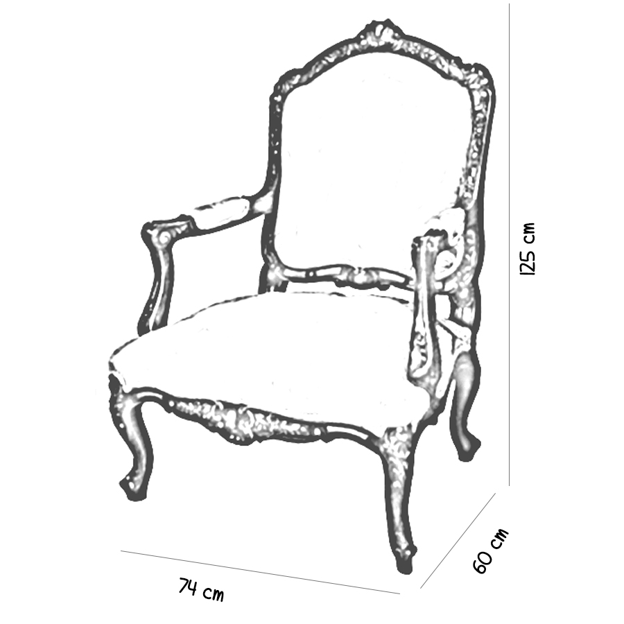 french-antique-classic-reproduction-armchair-sketch