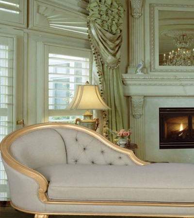French Chaise Lounge for Relaxing and Stretching Out
