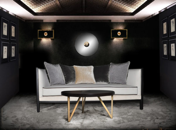 Lares Upholstered with Wood Frame Sofa 1
