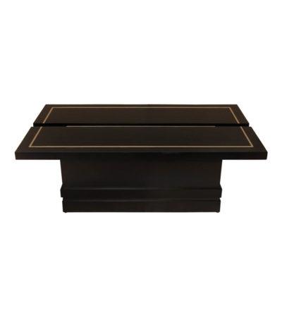 Adam Rectangular Dark Brown Coffee Table Top