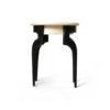 Adney Circular Curved Leg Side Table 7