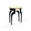 Adney Circular Curved Leg Side Table 5