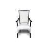 Agustin Upholstered Dining Chair with Arms 1