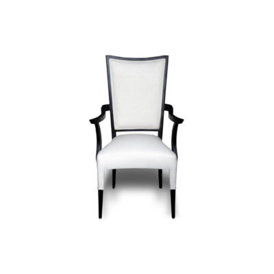 Agustin Upholstered Dining Chair with Arms