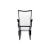 Agustin Upholstered Dining Chair with Arms 3