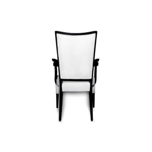Agustin Upholstered Dining Chair with Arms Back