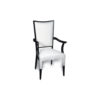 Agustin Upholstered Dining Chair with Arms 2