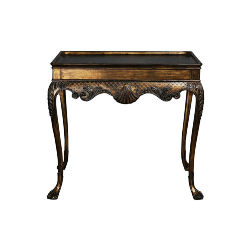 Antique Console Table Hand Carved Detailed