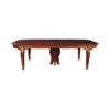 Antique French Style Dining Table with Gold Finish 1