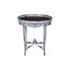 Antique Shabby Chic Side Table Distressed Painted 1