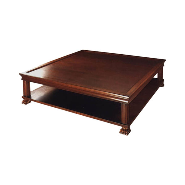 Asina Wooden Square Coffee Table
