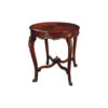 Avelina Antique French Style Round Side Table 1