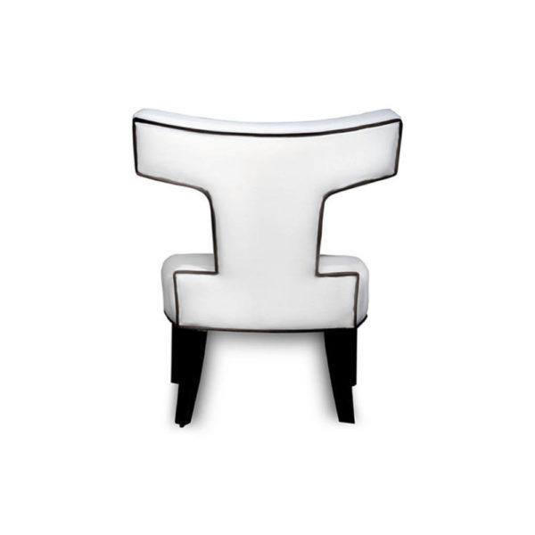 Benjamin Upholstered Curved Back Dining Chair Back