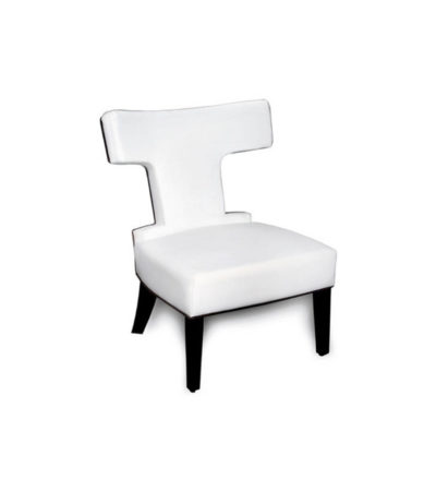 Benjamin Upholstered Curved Back Dining Chair Beside View