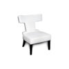 Benjamin Upholstered Curved Back Dining Chair 2