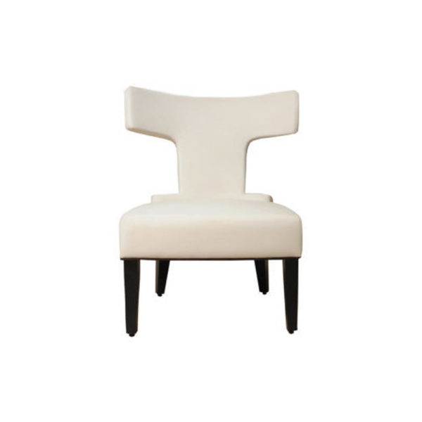 Benjamin Upholstered Curved Back Dining Chair