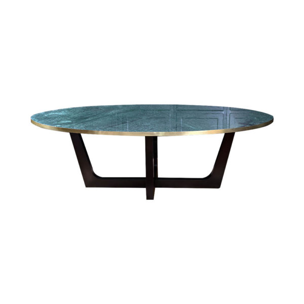 Berry Marble Top Dining Table
