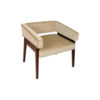 Capri Upholstered Square Winged Armchair 2