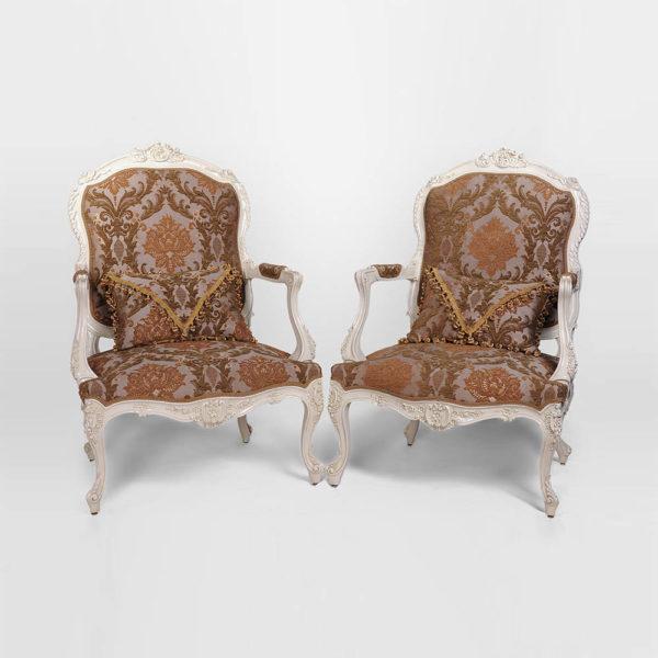 Classic Armchair Cushion Set