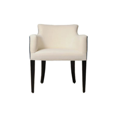 Eaton Upholstered Curved Arm Rest Chair