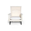 Eden Upholstered Square Chair with Arm Rest 1