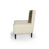 Eden Upholstered Square Chair with Arm Rest 4