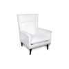 Eden Upholstered Square Chair with Arm Rest 2
