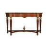 Edmund Elegant Style Marble Top Console Table 1