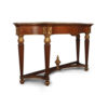 Edmund Elegant Style Marble Top Console Table 2
