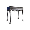 Edmundson Shabby Chic Console Table Dark with Hand Carved Wood 2