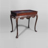 Edna Shabby Chic Console Table with Wooden Hand Carved Detailed 4