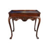 Edna Shabby Chic Console Table with Wooden Hand Carved Detailed 2