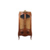 Egner Elegant French Style Display Cabinet with Tufted Upholstery 1
