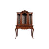 Ekaterina Hand Carved Antique French Style Display Cabinet 1