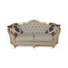 Elegant Gilded French Sofa 12