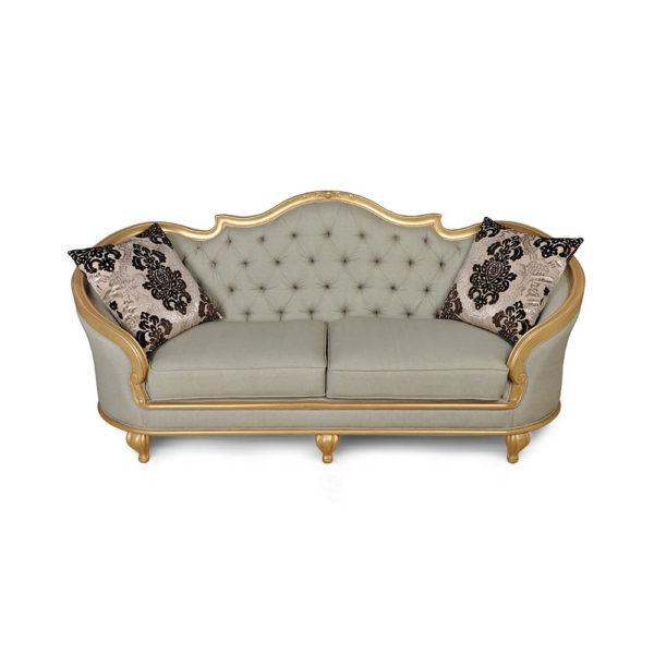 Elegant Gilded French Sofa Cushions