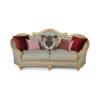 Elegant Gilded French Sofa 11