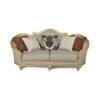 Elegant Gilded French Sofa 10