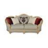 Elegant Gilded French Sofa 8