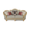 Elegant Gilded French Sofa 7