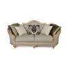 Elegant Gilded French Sofa 6