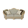 Elegant Gilded French Sofa 5