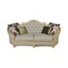 Elegant Gilded French Sofa 4