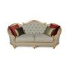 Elegant Gilded French Sofa 3