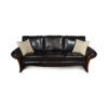 Elegant Living Room Leather Sofa 3