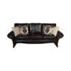 Elegant Living Room Leather Sofa 2