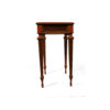 Elegant Side Table with Handcrafted Marquetry Veneer Inlay 6