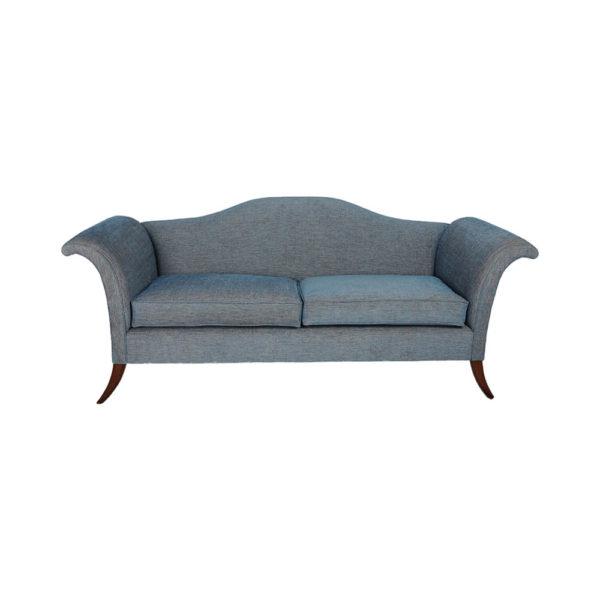 Elite Upholstered Roll Arm Sofa