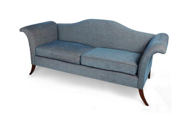 Elite Upholstered Roll Arm Sofa Beside